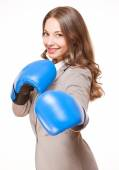 Ready for a fight. — Stock Photo