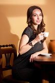 A cup of coffee. — Stock Photo