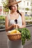 Healthy shopping. — Stock Photo