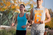 Run with me. — Stock Photo