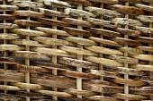 Texture pattern background, woven wood — Stockfoto