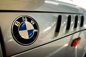 TAGUIG CITY, PHILIPPINES - JUNE 27, 2015: Logo of a BMW car. — Stock Photo