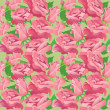 Floral seamless pattern with blooming pink roses. Ready to use a — Stock Vector #55481153