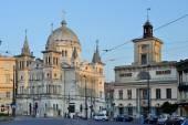 Polish town- Lodz, Poland — Stock Photo