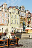 Market square, Poznan, Poland — Stock Photo