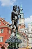 Market square, Poznan, Poland — Stock Photo