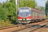 Железнодорожный транспорт — Стоковое фото