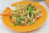 Malaysian cuisine. Char Kway Teow — Stock Photo
