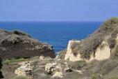 Mediterranean seaside, Israel. — Foto Stock