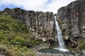 Taranaki waterfall in Tongariro National park, New Zealand. — Stock Photo