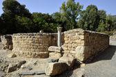 Ancient synagogue ruins, Israel — Stock Photo