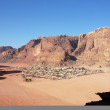 Bedouin village in Wadi Rum, Jordan. — Stock Photo #56841903