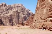Bedouin tent in Wadi Rum, Jordan — Stock Photo