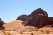 Wadi Rum desert, Jordan. — Stock Photo