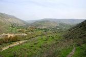 Golan Heights landscape, Israel. — Stock Photo