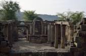Ancient synagogue Umm el Kanatir, Israel — Stock Photo