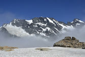 High mountains in Southern Alps, NZ. — Stock Photo