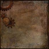 Steampunk background — Stock Photo