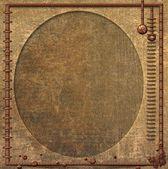 Background Steampunk Oval — Stock Photo