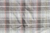 Checkered curtain texture — Stock Photo
