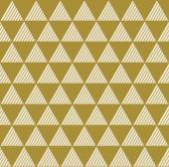 Sem costura fundo vintage geométrico de triângulos. — Vetor de Stock