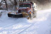 Snowplow Truck — Stock Photo