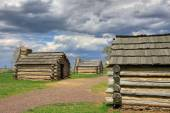 Cabins at Valley Forge — Stock Photo