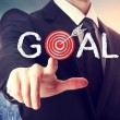 Reaching the Goal! — Stock Photo #52559139