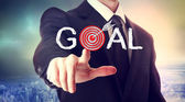 Reaching the Goal! — Stock Photo
