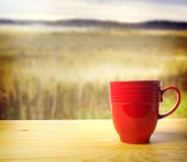 Despierta y huele el café — Foto de Stock