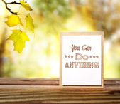 You Can Do Anything! — Stock Photo