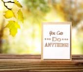 You Can Do Anything! — Zdjęcie stockowe
