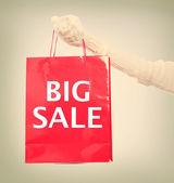 Big Sale Shopping Bag — Photo