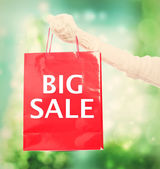 Big Sale shopping bag — Stock Photo