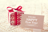 New Year message card — Stock Photo
