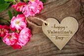 Happy Valentine's Day card — Stock Photo