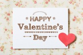 Happy Valentines Day card — Fotografia Stock
