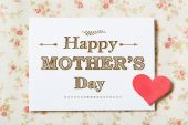 Happy Mothers Day card — ストック写真