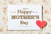 Happy Mothers Day card — Zdjęcie stockowe