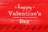 Happy Valentines Day message — Stock Photo