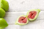 Ripe figs close up — Stock Photo