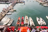 GENOA, ITALY - OCTOBER 5: The 54th edition of the boat's show to Genoa, Italy — Stockfoto