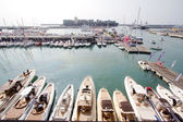 GENOA, ITALY - OCTOBER 5: The 54th edition of the boat's show to Genoa, Italy — Photo