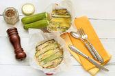 Zucchini parmigiana — Zdjęcie stockowe