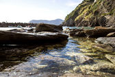 Vernazza, detail of seascape — Stock Photo