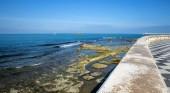 Livorno seascape panoramic view from Terrazza Mascagni — Foto Stock