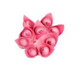 Pink ravioli — Stock Photo