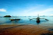 Sailboat in El Nido — Stock Photo