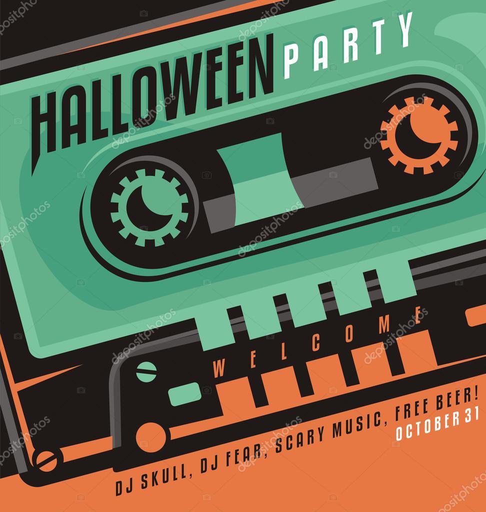 Halloween party — Stock Vector © lukeruk #52789703