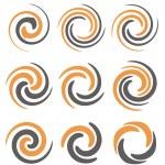 Spiral logo design concepts and ideas — Stock Vector #56002729